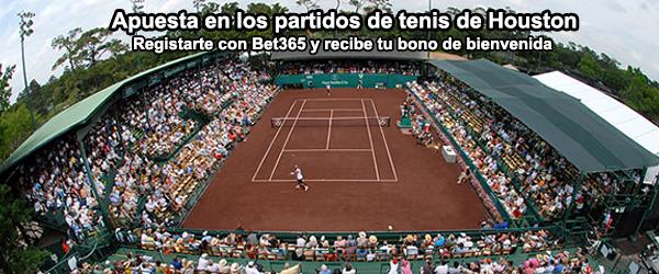 Apuesta con Bet365 en los partidos de tenis de Houston