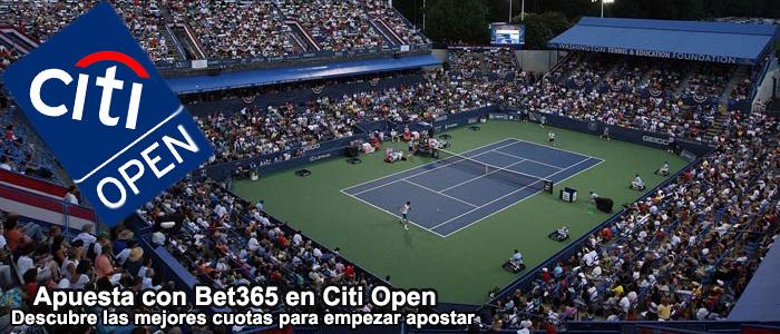 Apuesta con Bet365 en el Citi Open