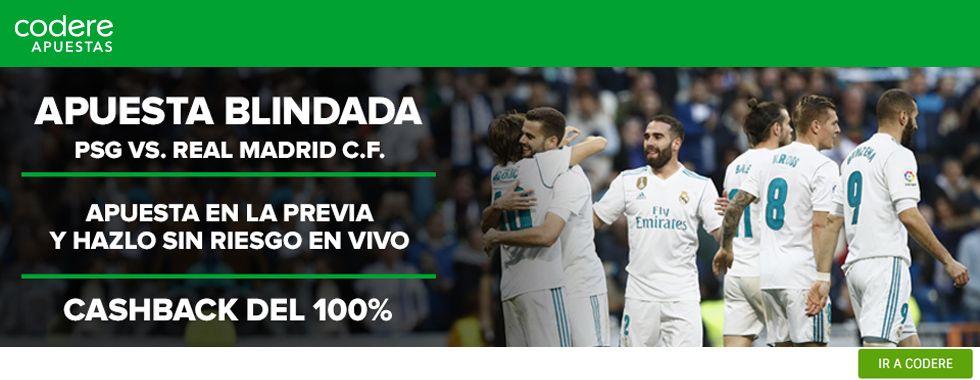 Promoción partido Champions League: PSG - Real Madrid