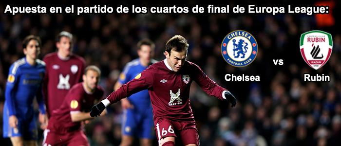 Apuesta en el partido de los cuartos de final de Europa League 2013: Rubin vs Chelsea