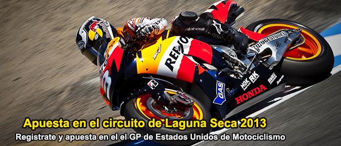 Apuesta en el circuito de Laguna Seca 2013
