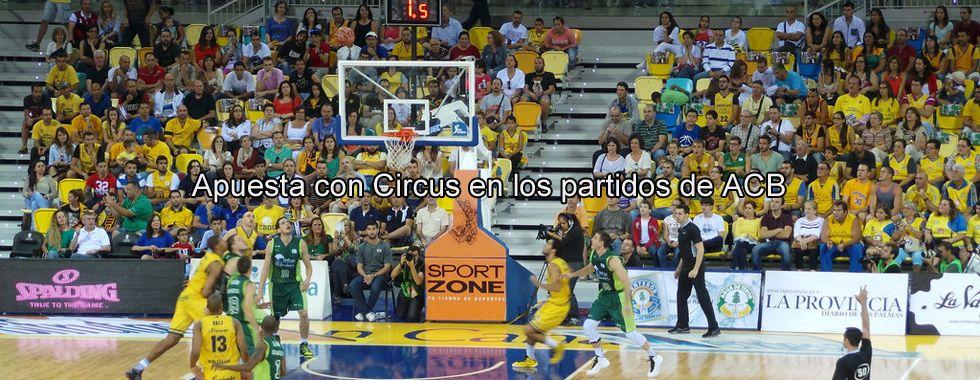 Apuesta con Circus en los partidos de la ACB