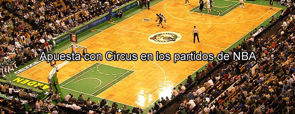 Apuesta con Circus en los partidos de NBA