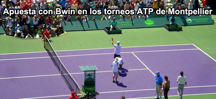 Apuesta con Bwin en los torneos ATP de Montpellier