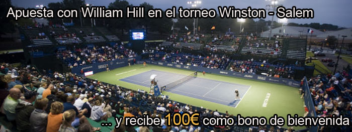 Apuesta con William Hill en el torneo Winston - Salem