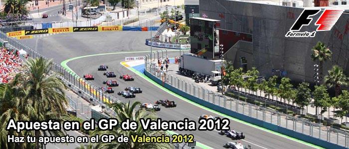 Apuesta en el GP de Valencia 2012