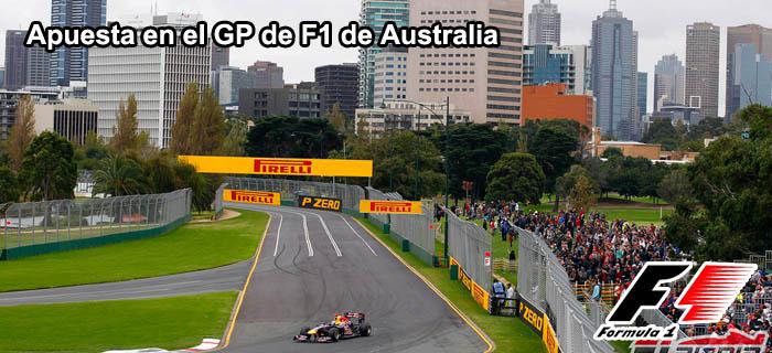 Apuesta en el GP de F1 de Australia