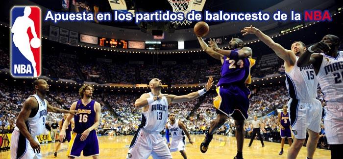 Apuesta en los partidos de baloncesto de la NBA