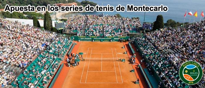 Apuesta en los series de tenis de Montecarlo