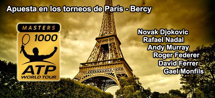 Apuesta en los torneos de París-Bercy