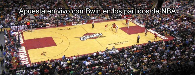 Apuesta en vivo con Bwin en los partidos de NBA