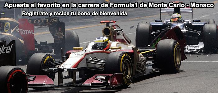 Apuestas Formula1 de Monte Carlo - Monaco