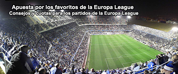 Apuesta por los favoritos de la Europa League