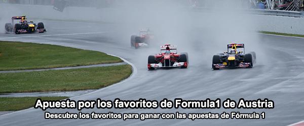 Los favoritos de Formula1 de Austria 2014