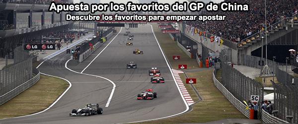 Apuesta por los favoritos del GP de China