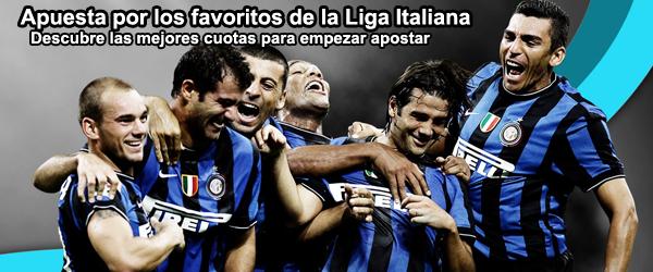 Apuesta en los partidos de la Liga Italiana