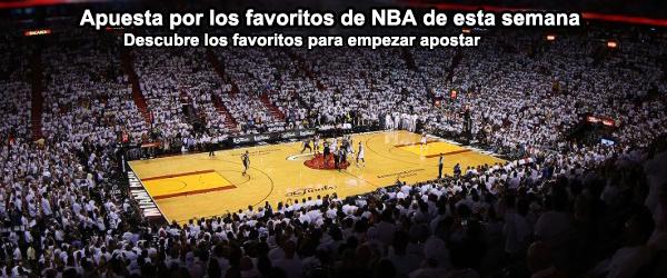 Apuesta por los favoritos de NBA de esta semana