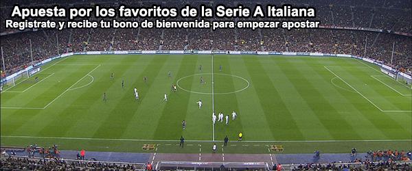 Apuesta por los favoritos de la Liga Italiana