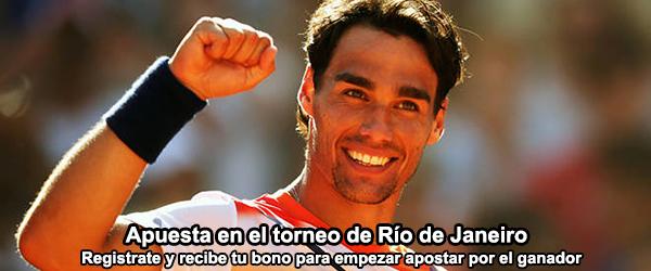Apuesta por los favoritos del torneo de Rio de Janeiro