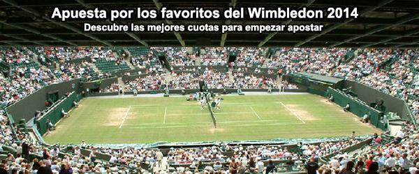 Apuesta por los favoritos del Wimbledon 2014