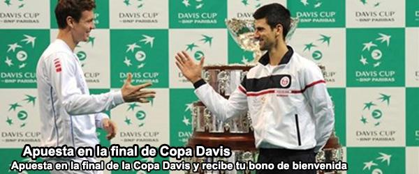 Apuesta en la final de Copa Davis