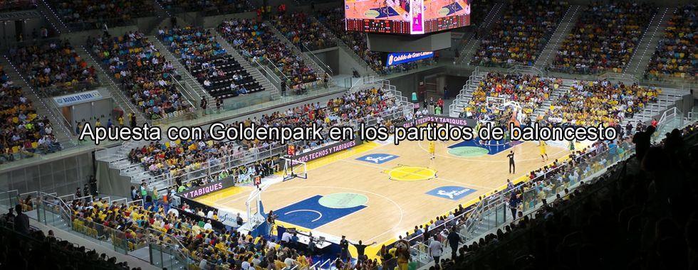 Haz tu apuesta con GoldenPark en un partido de baloncesto