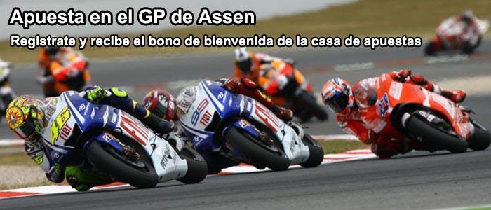 Apuesta en el GP de Assen