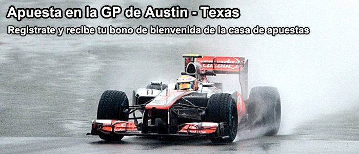 A quien apostar para ganar en el circuito GP de Austin - Texas?