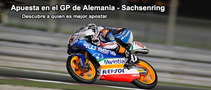 Apuesta en el GP de Alemania - Sachsenring