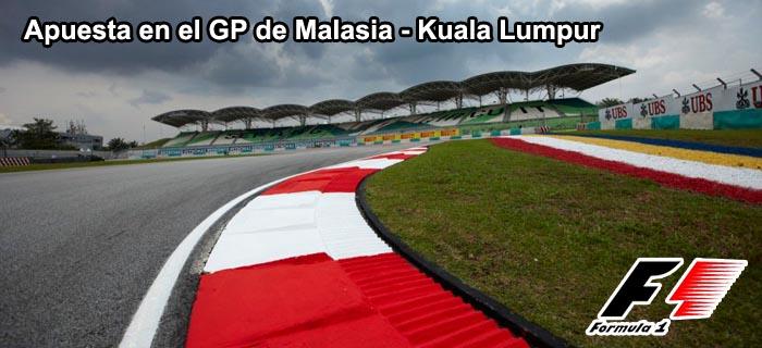 Apuesta en el GP DE MALASIA - Kuala Lumpur