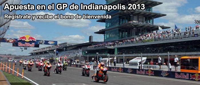 Apuesta en el GP de Indianapolis