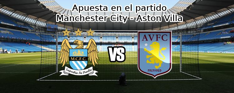 Apuesta en el partido Manchester City - Aston Villa