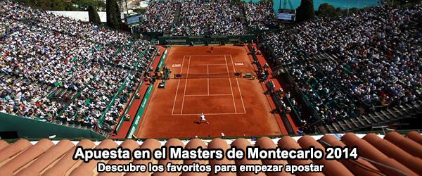 Apuesta en el Masters de Montecarlo 2014