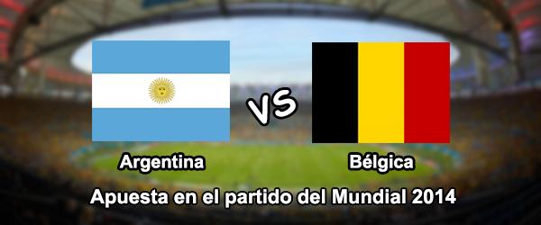 Mundial Brasil 2014: Argentina - Belgica