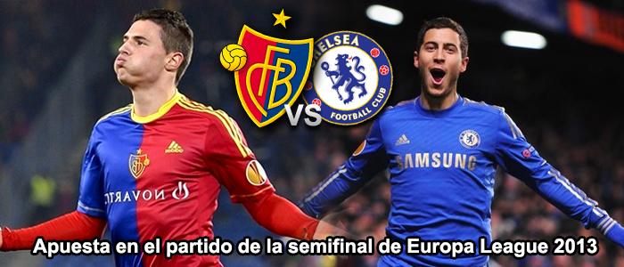 Apuesta en el partido de la semifinal de Europa League 2013: Basilea - Chelsea