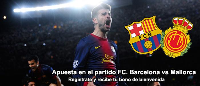Apuesta en el partido FC Barcelona vs Mallorca