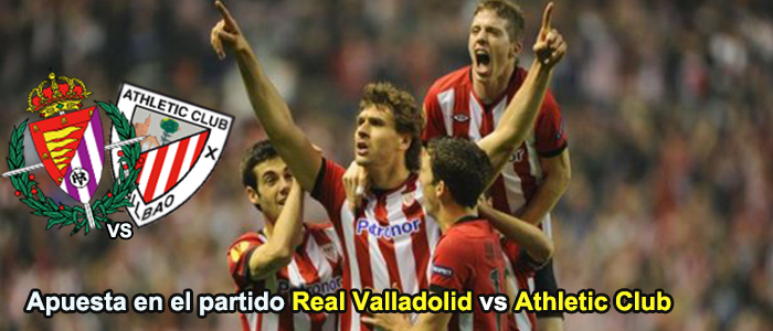 Apuesta en el partido Valladolid vs Athletic