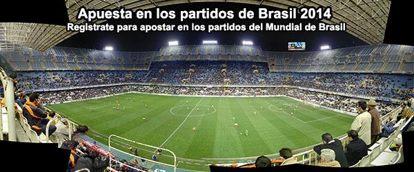 Llévate 100 euros de bono para apostar en los partidos de Brasil 2014
