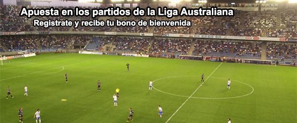Apuesta en los partidos de la Liga Australiana