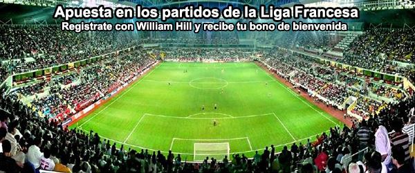 Apuesta en los partidos de la Liga Francesa con William Hill