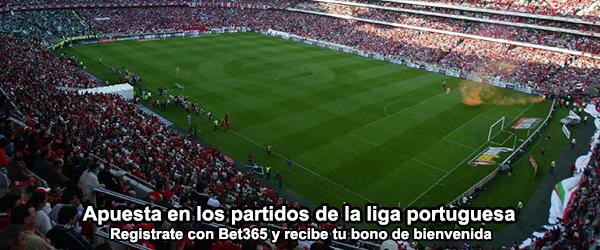 Apuesta en los partidos de la liga portuguesa con Bet365