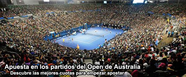 Apuesta en los partidos del Open de Australia