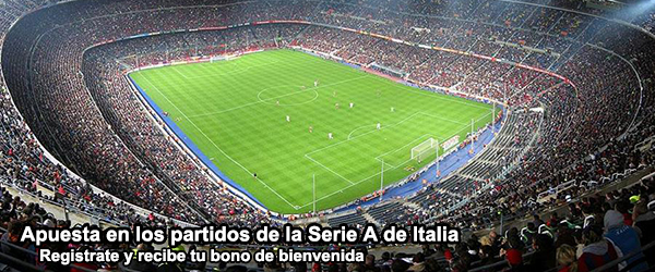 Apuesta en los partidos de la Serie A de Italia