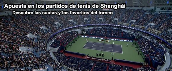 Apuesta en los partidos de tenis de Shanghái