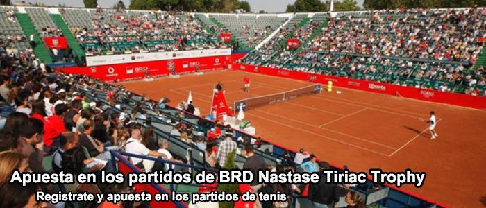Apuesta en los partidos de BRD Nastase Tiriac Trophy