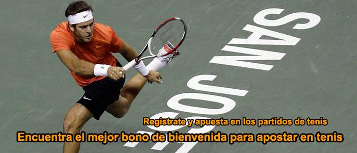 Encuentra el mejor bono de bienvenida para apostar en tenis