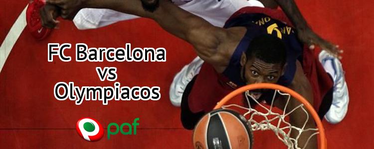La apuesta segura de PAF: FC Barcelona - Olympiacos