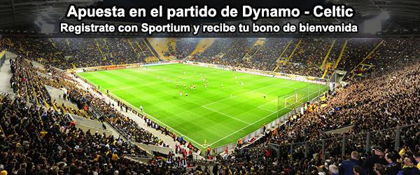 Apuesta con Sportium en el partido de Dynamo - Celtic