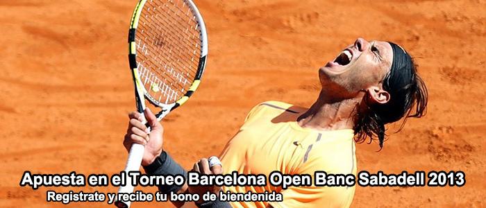 Apuesta con Bet365 en el Torneo Barcelona Open Banc Sabadell 2013