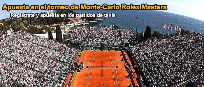Apuesta en el torneo de Monte-Carlo Rolex Masters